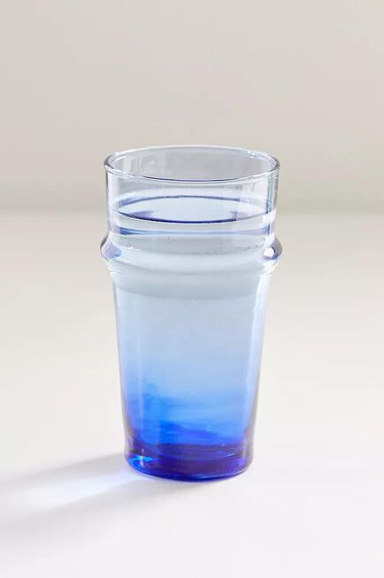 Urban Outfitters - BLUE Recycled Moroccan Stacking Glass