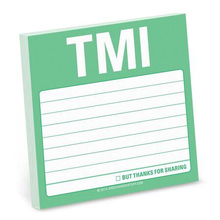 KNOCK KNOCK - Tmi Sticky Note