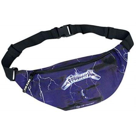 ROCKSAX - Metallica Ride the Lightning Bumbag