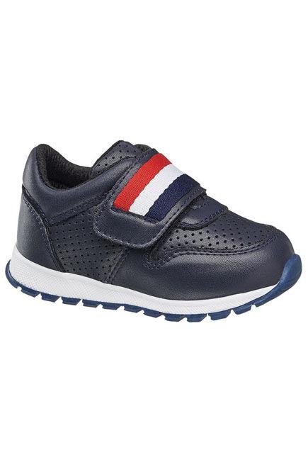 Bobbi-Shoes - Dark Blue Sneakers, Baby Boy