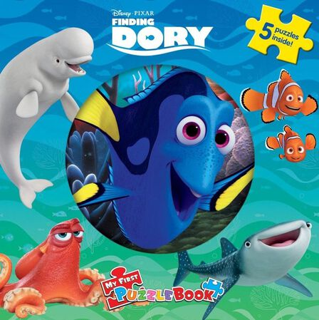 PHIDAL - Disney Finding Dory My First Puzzle Book