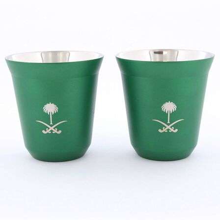 ROVATTI - Rovatti Pola 175ml Green Ksa Stainless Steel Cup