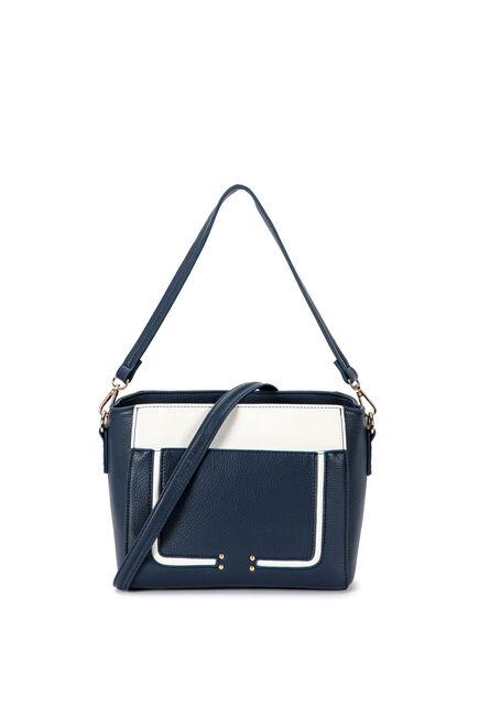 Punt Roma - Two tone shoulder bag