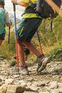 QUECHUA - Unique Size  Kids' Hiking Pole, Deep Blue