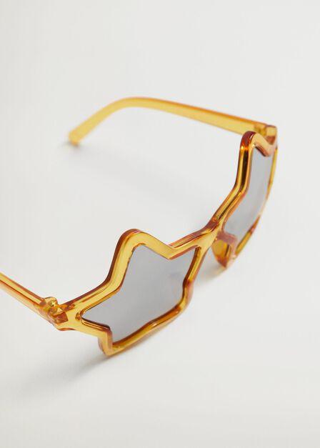 Mango - yellow Star frame sunglasses