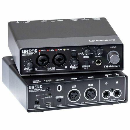 STEINBERG - Steinberg Audio Interface With 2 x D-Pre & Ultra-High 32-Bit/192 kHz UR22C