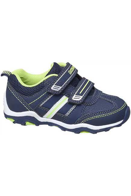 Bobbi-Shoes - Blue Velcro Sneakers, Kids Boy