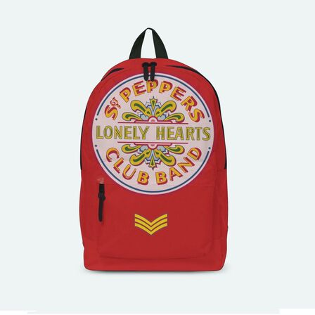 ROCKSAX - Beatles Lonley Hearts Red Classic Rucksack