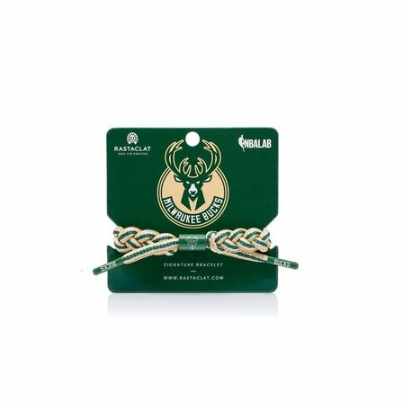 RASTACLAT - Rastaclat Milwaukee Bucks Home Men's Bracelet Tan/Green