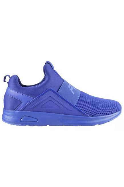 Fila - Blue Slip On Sneakers, Men