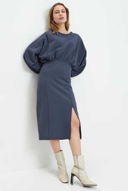 Mohito - Eco Aware Midi Dress - Blue