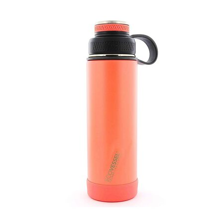 ECO VESSEL - Ecovessel Boulder Trimax Protective Bumper Tropical Melon Water Bottle 590 ml