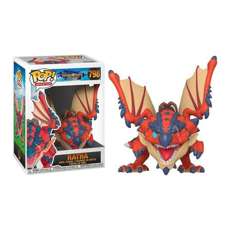 FUNKO TOYS - Funko Pop Animation Monster Hunter Ratha Vinyl Figure