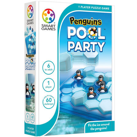 SMART GAMES - Smartgames Compacts Penguins Pool Party