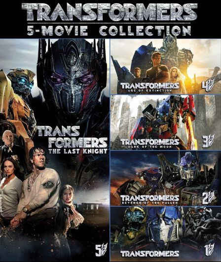 PARAMOUNT HOME ENTERTAINMENT - Transformers 5 Movie Collection [5 Disc Set]