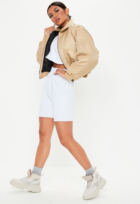 Missguided - CROP SWEATER CYCLING