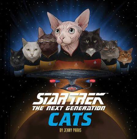 CHRONICLE BOOKS LLC USA - Star Trek The Next Generation Cats