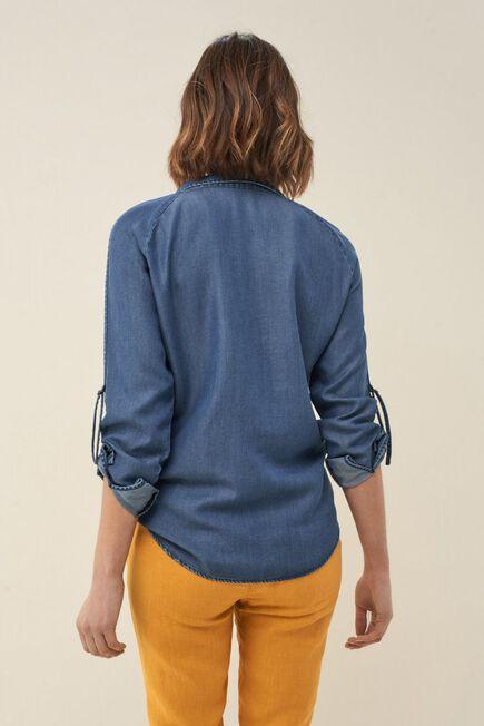 Salsa Jeans - Blue Regular fit antibacterial shirt