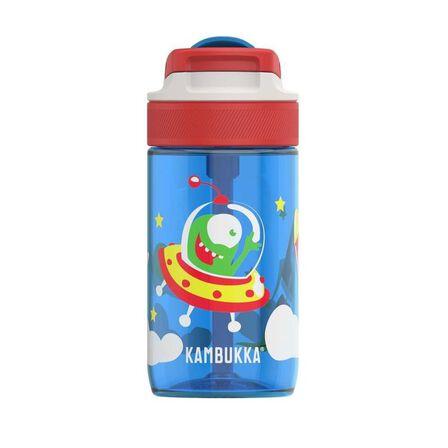 KAMBUKKA - Kambukka Lagoon Water Bottle with Spout Lid 400 ml Happy Alien