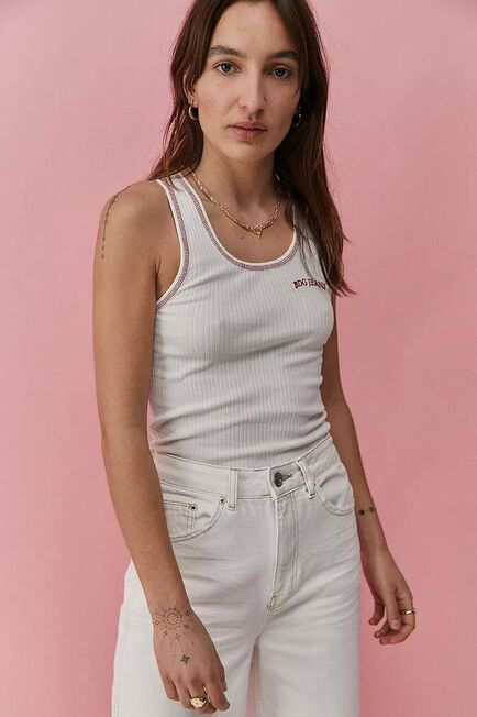 Urban Outfitters - WHT BDG Scoop Neck Vest
