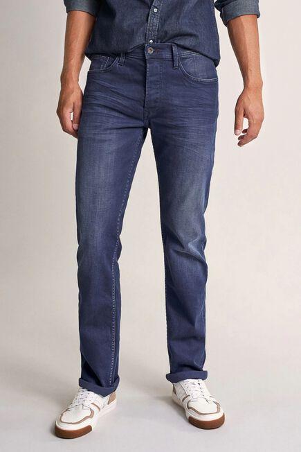 Salsa Jeans - Blue Navarro straight jeans in dark denim