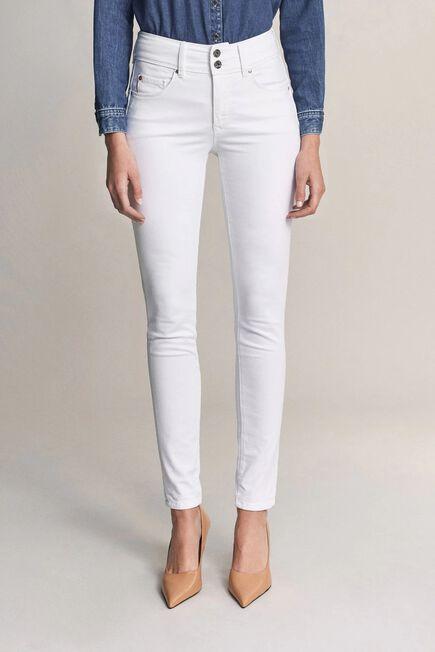 Salsa Jeans - White Secret push in skinny white jeans