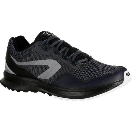 KALENJI - EU 41 Run Active Grip Men's Running Shoes - Black
