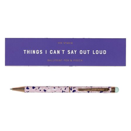 YES STUDIO - Yes Studio Things I Can't Say Pen & Case