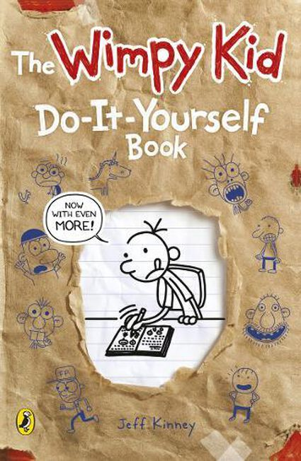 PUFFIN UK - Diary of a Wimpy Kid Do-It-Yourself Book