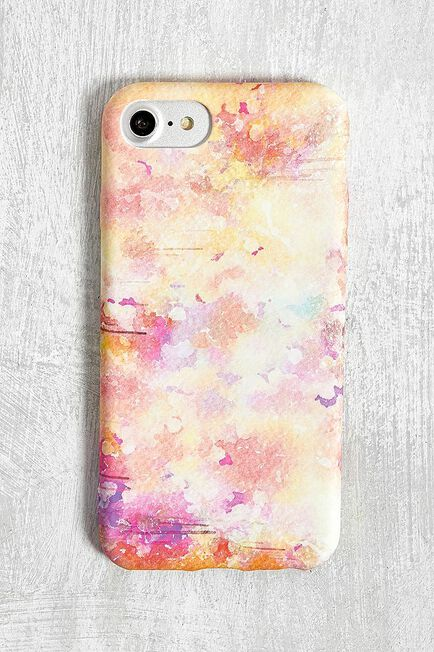 Urban Outfitters - Pink Watercolour IPhone 6/6S/7/8 Case