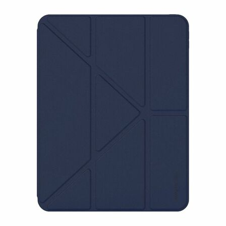 AMAZING THING - Amazing Thing Anti-Bacterial Protection Evolution Folio Case Blue for iPad 10.9