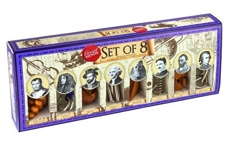 PROFESSOR PUZZLE LTD - Professor Puzzle Great Minds Collection [Set of 8]