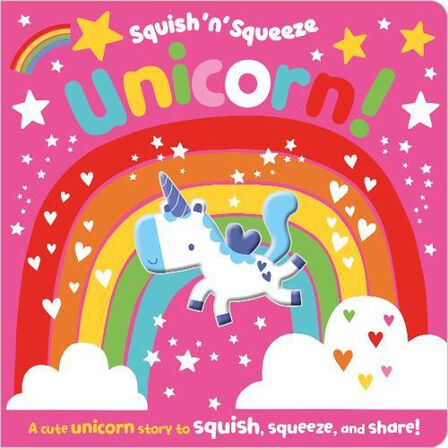 MAKE BELIEVE IDEAS UK - Squish 'N' Squeeze Unicorn!