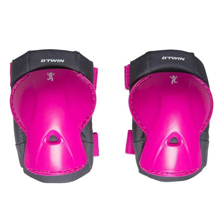 BTWIN - XS - Children's Bike Protection Kit - Pink