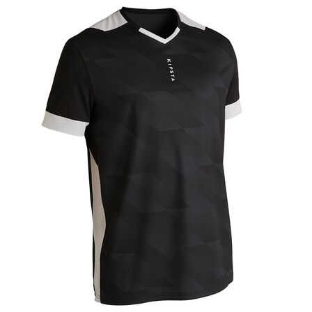 KIPSTA - Medium  F500 Adult Football Shirt, Black