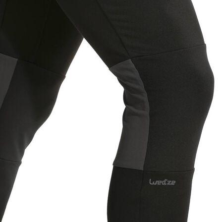 WED'ZE - Freshwarm men's ski underwear bottoms - black