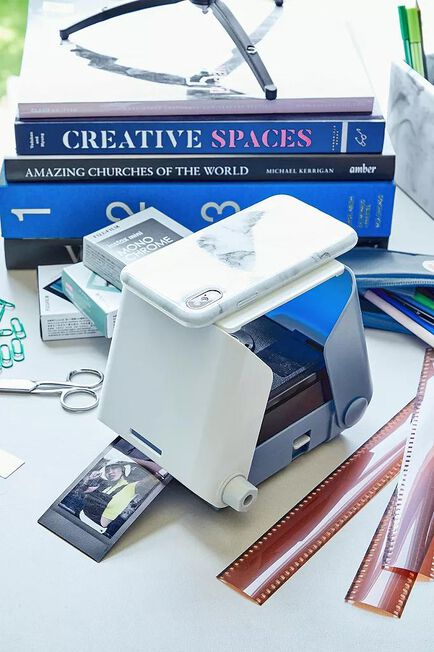 Urban Outfitters - Blue Kiipix Smartphone Photo Printer
